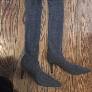 Zara stretch sock boots